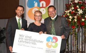 Doris Humer ehrt GEG mit INEO Award