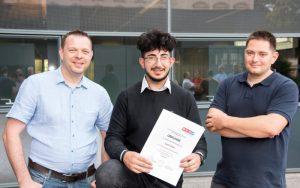 Yilmaz unter Top 10 Lehrlingen in Oberösterreich