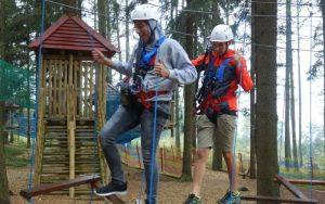 Teambuilding Kletterpark